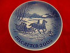 2005 B&G Bing & Grondahl Christmas Plate / Great Anniversary or Birthday Present