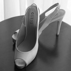 Shoes before the big day.