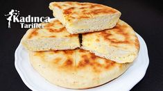 Haçapuri Tarifi Turkish Recipes, Pancakes, Cheese, Salsa, Breakfast, Food, Recipies, Morning Coffee, Essen