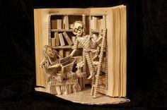 Book Sculptures - Jodi Harvey-Brown