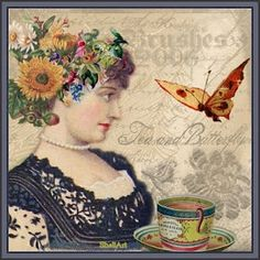 Tea and Butterfly