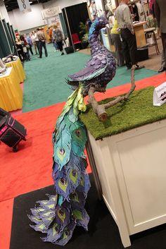 DCWV paper peacock
