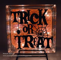 Custom Decal Ideas From Pinterest This Was A Happy Harvest - Halloween vinyl decals for glass blocks