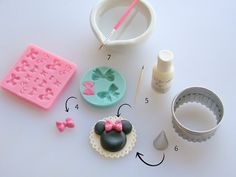 Check out some of the sweetest Minnie Mouse cake decorating ideas & learn how to make a Minnie Mouse cupcake topper with this super simple fondant tutorial.
