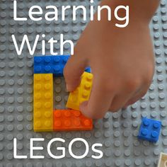 Learning activities with Legos - helping young kids explore math concepts