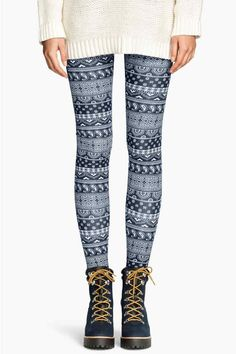 Leggings estampadas | H&M