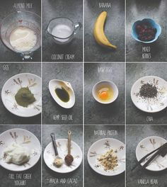RAPID FITNESS NUTRITION // Smoothie chart
