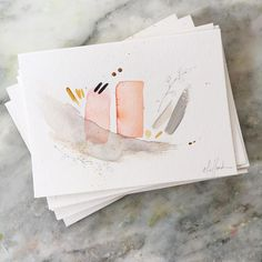 Abstracts by Emily Jeffords // yeahTHATgreenville