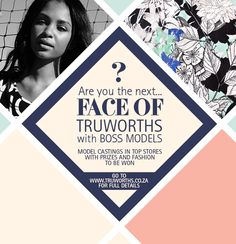 Face of Truworths with Boss models Competition, Boss, It Cast, Face, Model, Fashion, Moda, Fashion Styles
