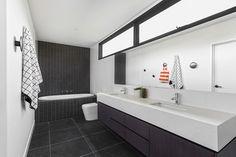 The Gallery House bathroom by Sisalla Interior Design
