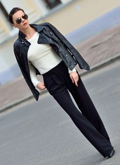 Black And White Chic Style by Rasz