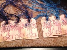 Vintage Hand stamped victorian tags by SimpleSouthernSass on Etsy, $6.95