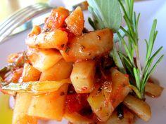 Scorzonera bianca,  in toscana 'barbe di prete',  verdura antica, rustica e saporita. Un viaggio tra le 'verdure dimenticate'. http://cucinaresuperfacile.com/?p=2703
