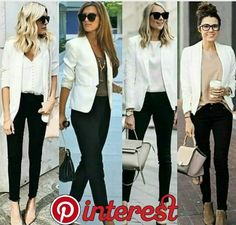 business mode damen blazer and tshirt outfit Trajes Business Casual, Business Casual Outfits, Professional Outfits, Office Outfits, Mode Outfits, Casual Friday Work Outfits, Business Professional, Blazer Outfits Casual, Classy Outfits