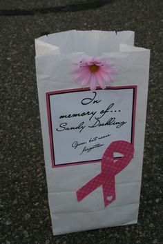 Relay For Life Luminaria Bag Decorating Ideas Luminaria