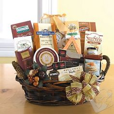 #wineenthusiast   For The Whole Gang Gift Basket at Wine Enthusiast - $79.95