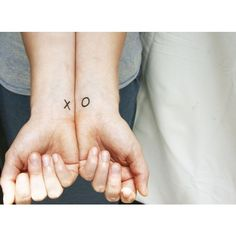 Items similar to x o temporary tattoo wrist kiss hug on Etsy ❤ liked on Polyvore featuring accessories, body art, tattoos, pictures and tatoo