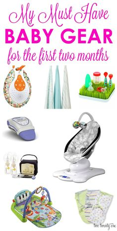 Must have baby gear for the first two months! ---> so excited to have majority of these products!!