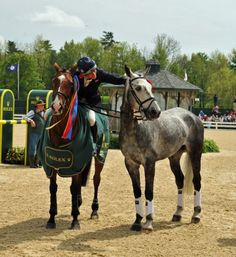 Mary King won 1st and 2nd at the 2011 Rolex Kentucky 3 Day Event. Very impressive!    www.saddlersrow.com