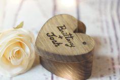 Personalized Wedding Ring Box, Ring Bearer Box, Ring Bearer Pillow Alternative, Personalized Ring Box, Ring Box for Wedding, Ring Bearer