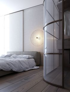 Small Space Design, Small House Design, Small Spaces, Interior Styling, Interior Design, Room Divider Curtain, Master Bedroom Closet, Apartment Projects, Modern Wall Sconces