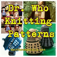 Dr Who Knitting Pattern ideas