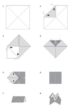 Cootie Catcher Template Part  Of   Vbx     Of