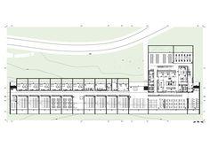Ground Floor Plan, Hotel & Catering School / Eduardo Souto de Moura + Graca Correia