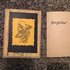 Handmade You got This Greeting Card | eBay