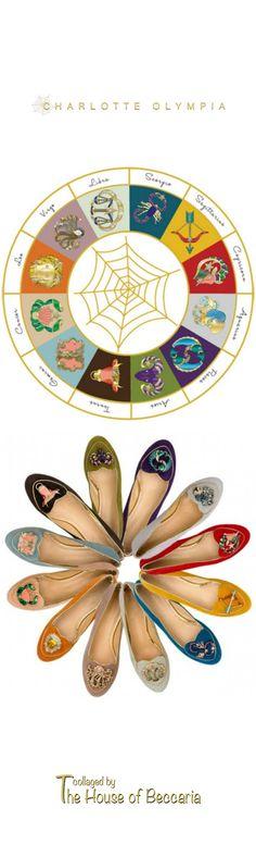 ~Serious Star Power: Charlotte Olympia's Zodiac Smoking Slipper Flats | House of Beccaria#