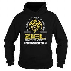 I Love ZIEL Legend - ZIEL Last Name, Surname T-Shirt T-Shirts