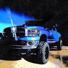 Tanner Smith's Megacab dodge cummins truck liftedtruck blue