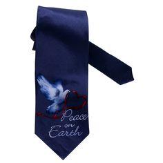 Peace On Earth Dove Necktie