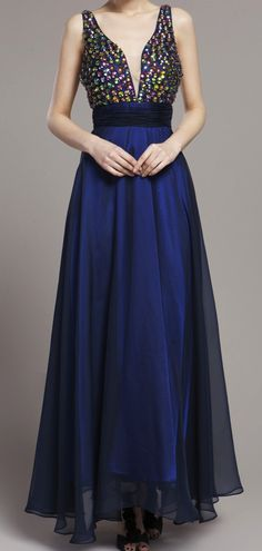 Party gown evening dress