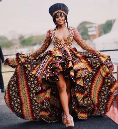 """Bontle ba Afrika - A Proud, African Star! Plus Wedding Dresses, Event Dresses, Unique Dresses, Africa Fashion, Tribal Fashion, Zulu Women, African Fashion Traditional, African Princess, My Perfect Wedding"