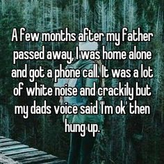 """I call my dad by his first name because I don't respect him as a father or as a person"". The first whisper reads, ""I call my dad by his first name behind…"" Creepy Stories, True Stories, Funny Stories, Horror Stories, Funny Quotes, Life Quotes, Reality Quotes, Relationship Quotes, Whisper Quotes"
