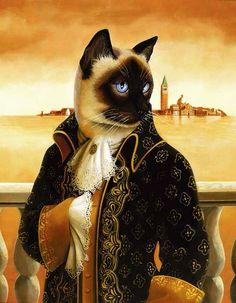 Фото 7, «Кошки - аристократы (12 фото)»
