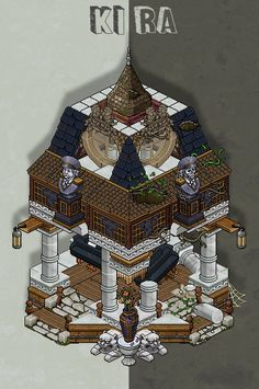 Twitter Habbo Hotel, Isometric Art, Art Rooms, Art Prompts, Medieval Town, Sprites, Some Ideas, Story Inspiration, Funny Games