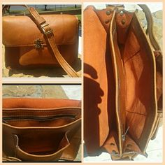 Handmade leather bag from Ray's Leather. raysleatherwork@gmail.com. Leather Bags Handmade