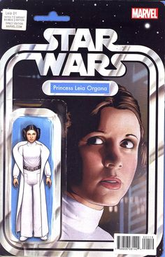 Princess Leia #1 Cover G Variant Star Wars Action Figure Cover