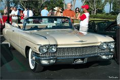 1960 Cadillac convertible  Maintenance/restoration of old/vintage vehicles: the material for new cogs/casters/gears/pads could be cast polyamide which I (Cast polyamide) can produce. My contact: tatjana.alic@windowslive.com