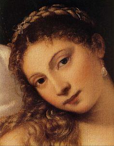 Titian (Tiziano Vecellio) - Venus of Urbino, before 1538