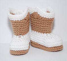 Free Stuff: FREE CROCHET PATTERN FOR CUSTOM MADE COWBOY BABY BOOTIES THAT WILL FIT UP TO ??? - Listia.com Auctions for Free Stuff