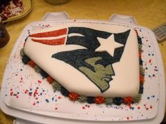 NFL Team Themed Cake