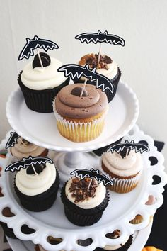 Decorate for a Halloween party with these cute printables.