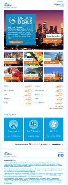 KLM Dream Deals are live!