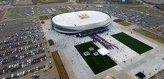 Nassau Dems urge Mangano to renegotiate Coliseum parking fees Nassau Coliseum, Long Island