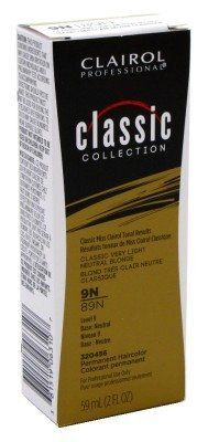 Clairol Pro-Classic Collection 9N/89N Very Lt Ntrl Blonde 2 Ounce (59ml) (2 Pack) ** This is an Amazon Affiliate link. Visit the image link more details.