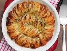 מאפה תפוחי אדמה פריך