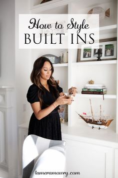 How to Style Built Ins   TameraMowry.com